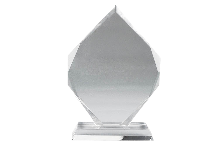 Acrylic Trophy with Engraving - AC3042