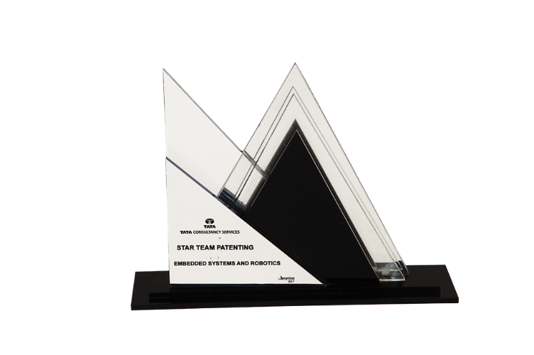 Acrylic Trophy with Engraving - AC3087