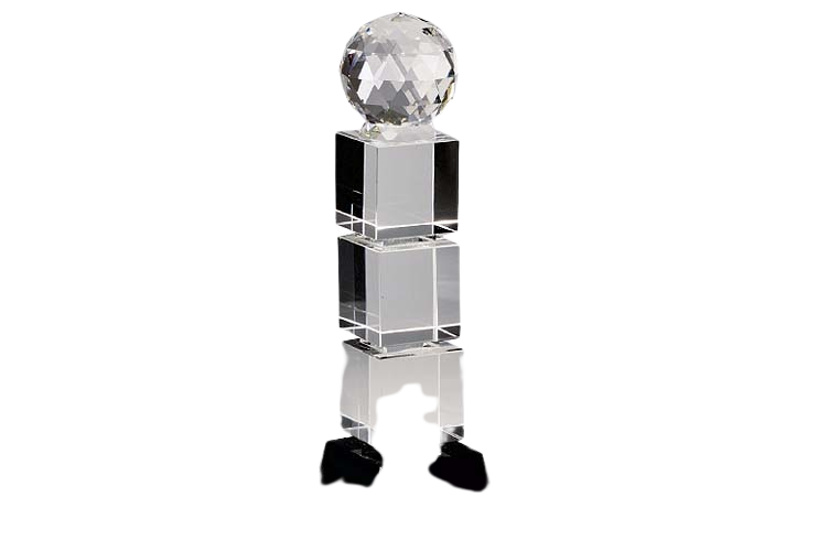Corporate Achievement Trophy in Crystal Globe - CG1062
