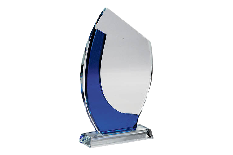 Corporate Achievement Crystal Trophy - CG1070