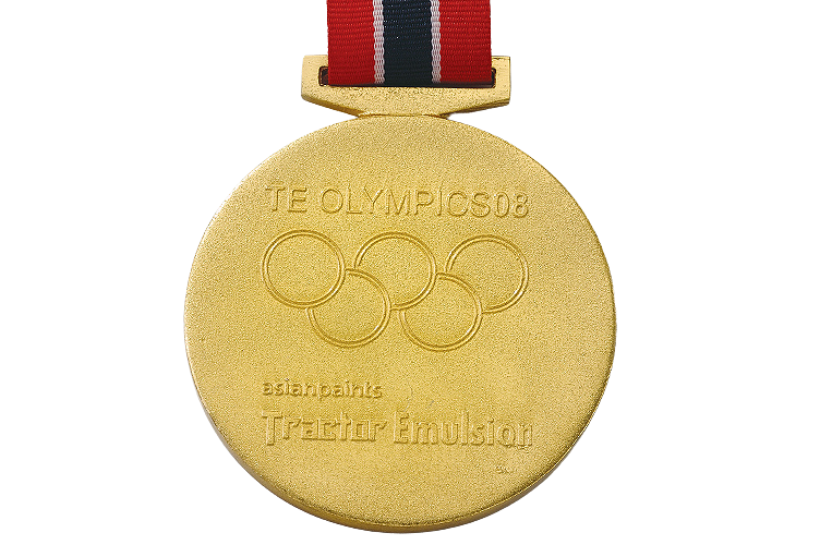 Sports Gold Medal with Engraving - MB4006