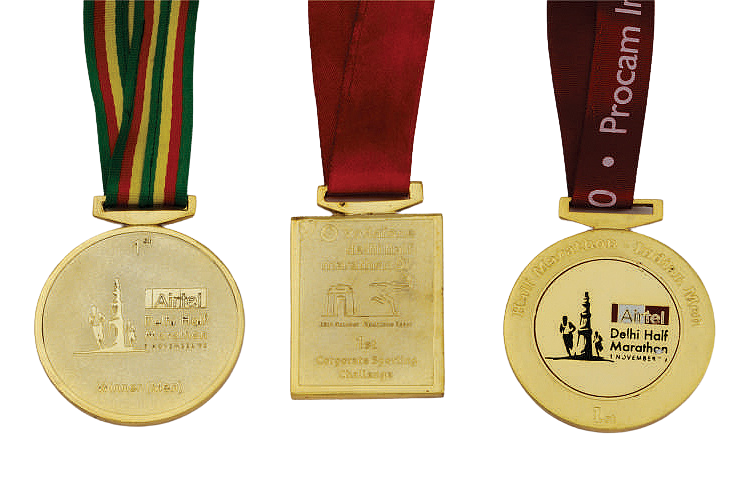 Multiple Shape Sports Medals in Gold or anyother Material - MB4015