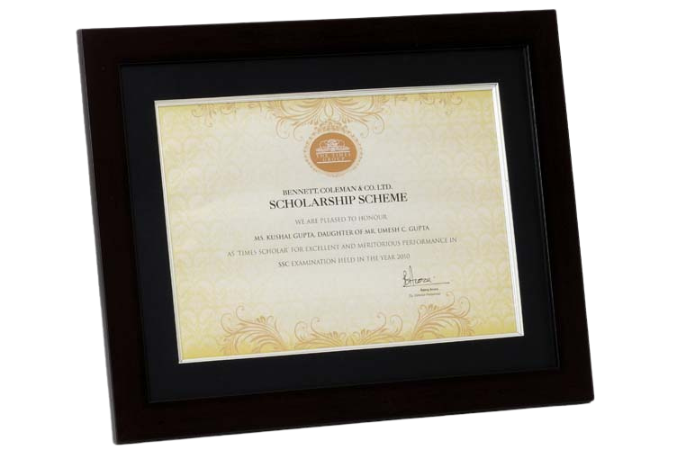 Corporate Frame for Commemoration - PM5038