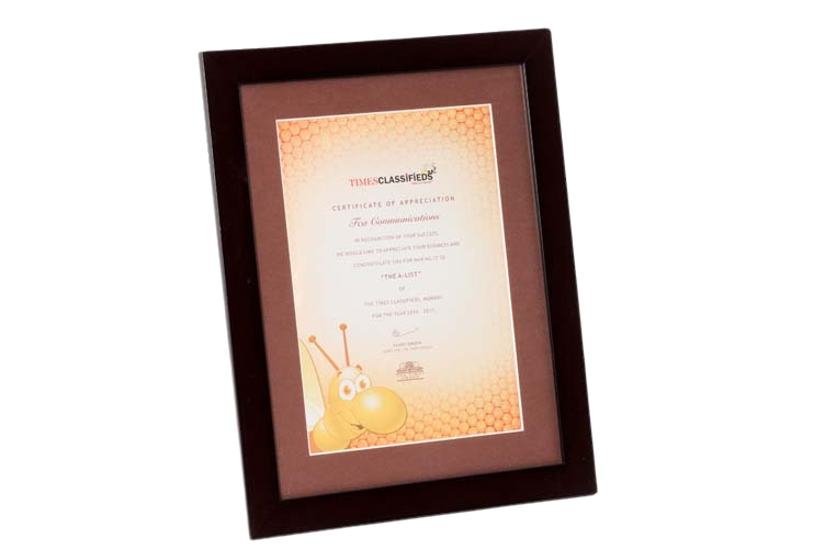 Corporate Frame with Colour Printing - PM5039