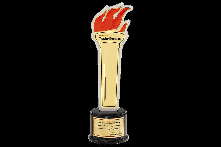 Golden Torch Metal Sports Trophy - WM2033