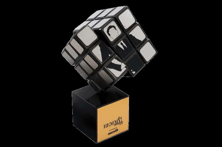 Rubik Cube Business Trophy - WM2083
