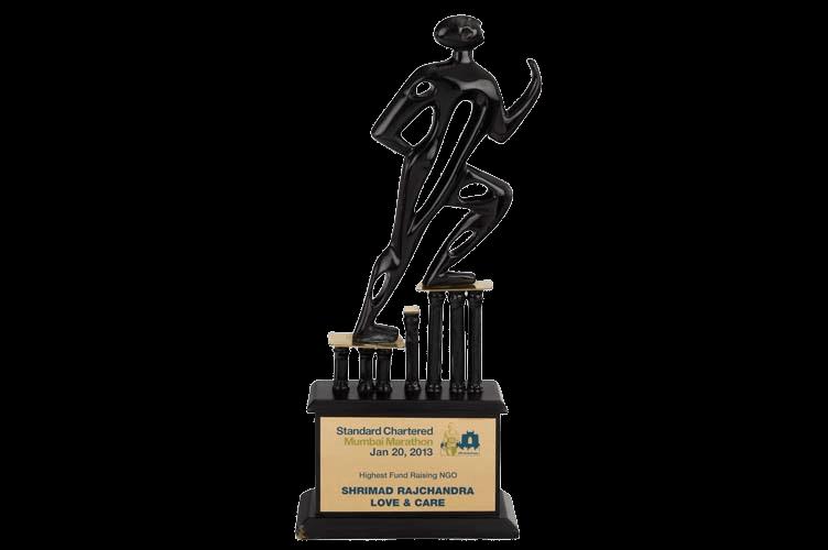 Abstract Figurine Marathon Sports Trophy - WM2182